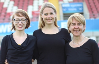 Jasmine Olbort, Anika Baumann, Regina Mayer